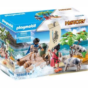 Playmobil History Ο Οδυσσέας Και Η Κίρκη 70468