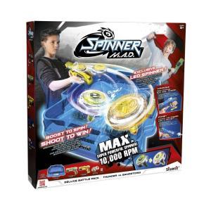 Silverlit Spinner M.A.D. Deluxe Σετ Μάχης Battle Pack: Thunder Vs Sandstorm 7530-86331