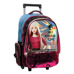 GIM Τσάντα Trolley Barbie Denim Fashion 349-66074