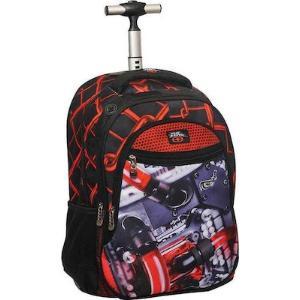 Σχολική τσάντα τρόλεϊ NO FEAR 347-28074