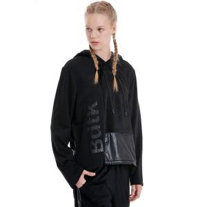 BODYTALK  φούτερ  loose hoodie velour (1192-908025)