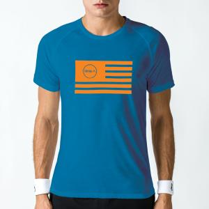 GSA T-shirt surf blue b.flag (17-19034)