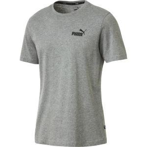 PUMA Ανδρικό Essentials Small Logo T-Shirt γκρι (851741-03)