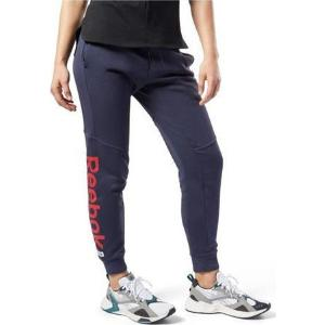 REEBOK Training Essentials Linear Logo Pants W Navy (FI2042)