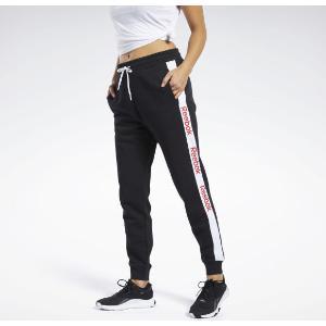 REEBOK Γυναικείο Παντελόνι φόρμας μαύρο TE LINEAR LOGO PANT (FK6691)