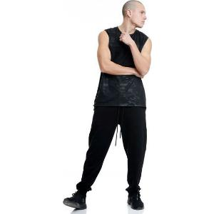 BODYTALK Ανδρικό Regular παντελόνι φόρμας μαύρο (1201-956000-00100)
