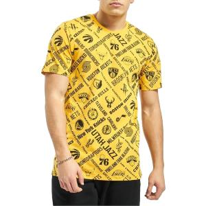 NEW ERA NBA AOP TEE ALL TEAMS AGD yellow (12195413)