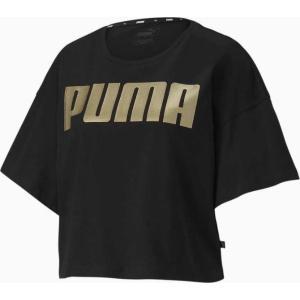 PUMA Rebel Fashion  Tee black gold (581308 51)