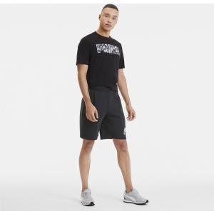 PUMA Rebel CAMO Shorts 9'' black (582032 01)