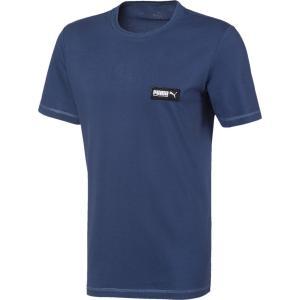 PUMA  Ανδρικό μπλουζάκι κοντομάνικο  μπλε Fusion Tee Dark Denim (581327 43)