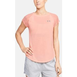 UNDER ARMOUR Γυναικείο κοντομάνικο μπλουζάκι ροζ Streaker 2.0 Shift (1350070 845)