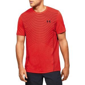 UNDER ARMOUR Ανδρικό κόκκινο κοντομάνικο μπλουζάκι Seamless Wave (1351450 628)