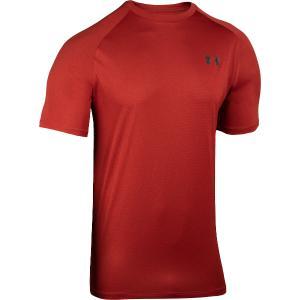 UNDER ARMOUR Ανδρικό μπλουζάκι κοντομάνικο κοκκινο Tech 2.0 (1345317 615)