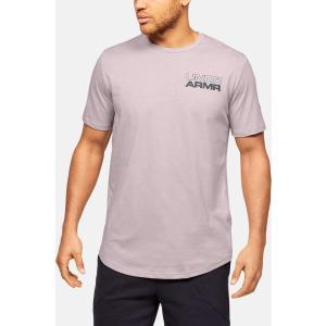 UNDER ARMOUR Ανδρικό μπλουζάκι κοντομάνικο ροζ Baseline Photoreal Graphic (1351296-667)