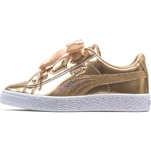 PUMA Heart Lunar Lux Girls' Preschool Trainers (365994 02)