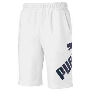 PUMA BIG LOGO Shorts 10'' white dark (581551 02)