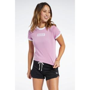 REEBOK Γυναικείο μπλουζάκι TE Linear Logo Slim Tee JASPNK (FJ2722)
