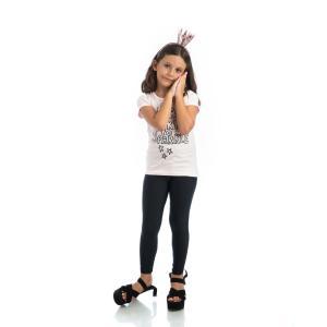 PCP Jacqueline Γυαλιστερά Παιδικά Κολάν (BLACK)