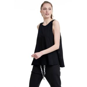BODYTALK Γυναικεία αμάνικη μπλούζα BLACK (1201-904923-00100)