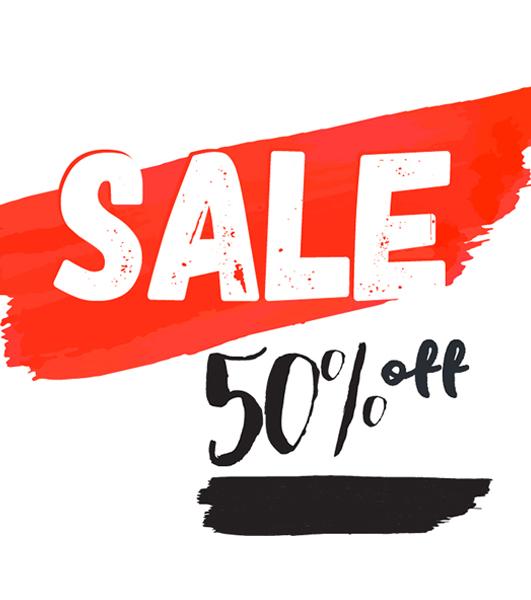 SALES -50%