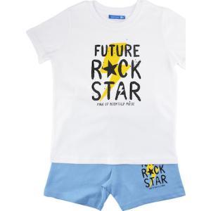 BODYTALK Βρεφικό σετ με t-shirt και σορτσάκι `rock star` (1191-734599-00200)