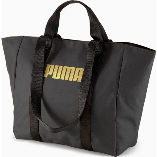 PUMA Γυναικεία μαύρη τσάντα Core Base Large Shopper