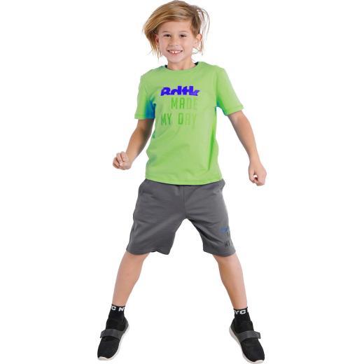 Σετ με Τ-shirt και βερμούδα για αγόρια 0