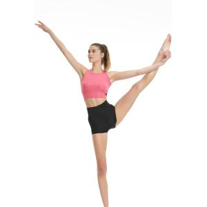 BODYTALK Γυναικείο ελαστικό κοντό shorts μονόχρωμο