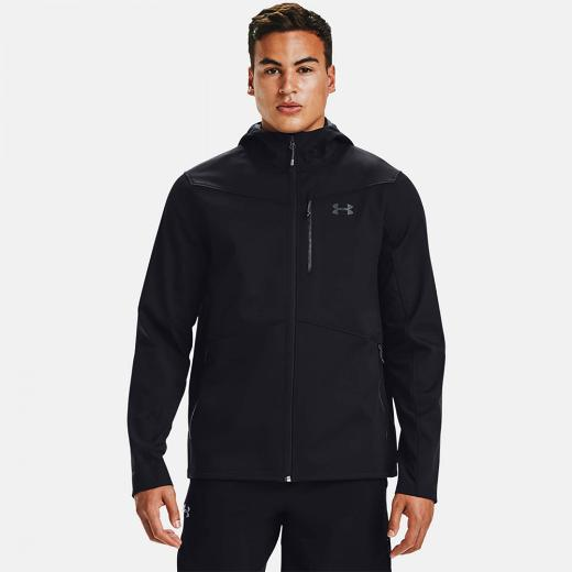 Under Armour Shield Hooded Black