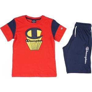 CHAMPION Παιδική Φόρμα Set Graphic Shop Logo