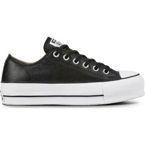CONVERSE Chuck Taylor All Star Lift Clean Leather Low Top Γυναικείο Flatform Sneaker