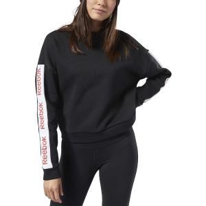 REEBOK Φούτερ γυναικείο Training Essentials Linear Logo Crew