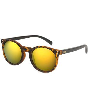BREO Elmhurst Mirror Tortoise Shell Black Wood Γυαλιά ηλίου