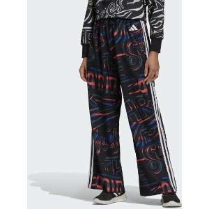 Adidas All Over Print 3-Stripes Wide Multi Black