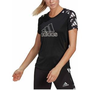 ADIDAS Μαύρο Αθλητικό Γυναικείο T-shirt Own Run Celebration