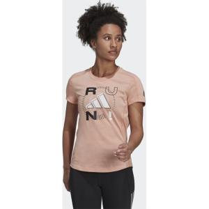 ADIDAS Run Logo Tee T-shirt γυναικείο