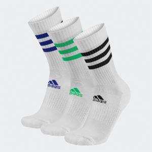 ADIDAS 3-Stripes Cushioned 3 ζεύγη unisex κάλτσες ενηλίκων