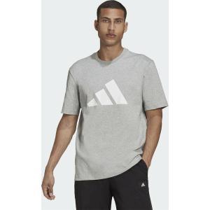ADIDAS Sportswear Future Icons Graphic Αθλητικό Ανδρικό T-shirt Heather Με Λογότυπο