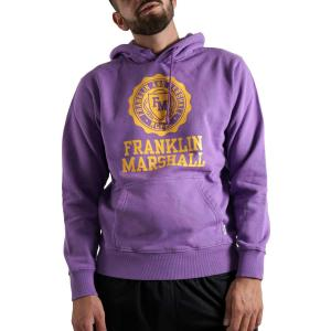 Franklin & Marshall Brushed Cotton Fleece Hoodie M