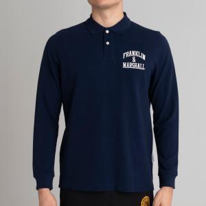 Franklin Marshall ανδρική μπλούζα polo μακρύ μανίκι