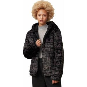 FILA WMNS MARGOT HOODED FUR JACKET