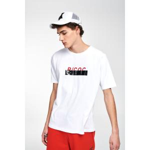 P/COC LOGO T-SHIRT IN WHITE