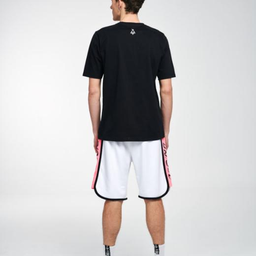 P/COC SIDE STRIPED SHORTS IN WHITE 2