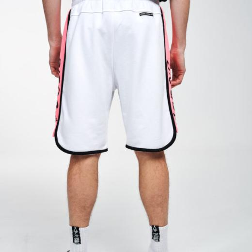 P/COC SIDE STRIPED SHORTS IN WHITE 4