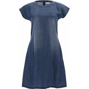 FREDDY  A-Line Dress In Denim-Effect Plant-Based Fabric