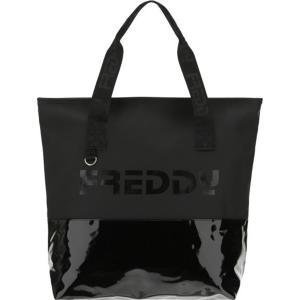 FREDDY Γυναικεία Τσάντα Shopper 'Ωμου σε Μαύρο χρώμα