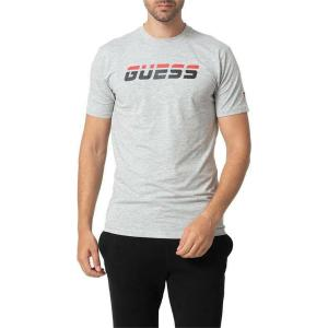 GUESS T-SHIRT S/S - ORGANIC LIGHT STRETCH JERSEY