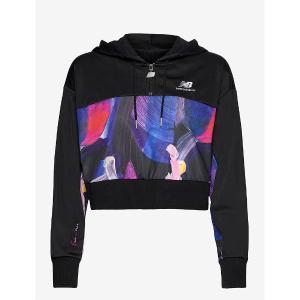 NEW BALANCE athletics print hoodie