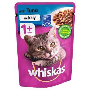 WHISKAS® 1+ Φακελάκι με Tόνο σε Σάλτσα 100g - 4473