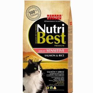 PICART NUTRIBEST CAT ADULT SENSITIVE SALMON & RICE  15Kg - 1964